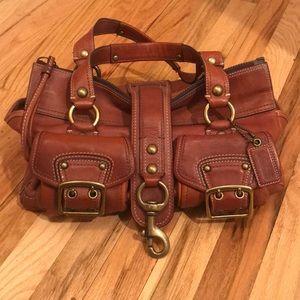 Coach authentic vintage brown leather satchel
